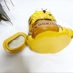 Vintage Kitchen - VTG Ceramic Garfield Oreo Cookie Jar Lid